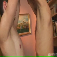 Well hung twink fucks a small dick twink